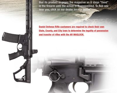 Daniel Defense - AR MAGLOCK Endorsement (No Dealer Link)